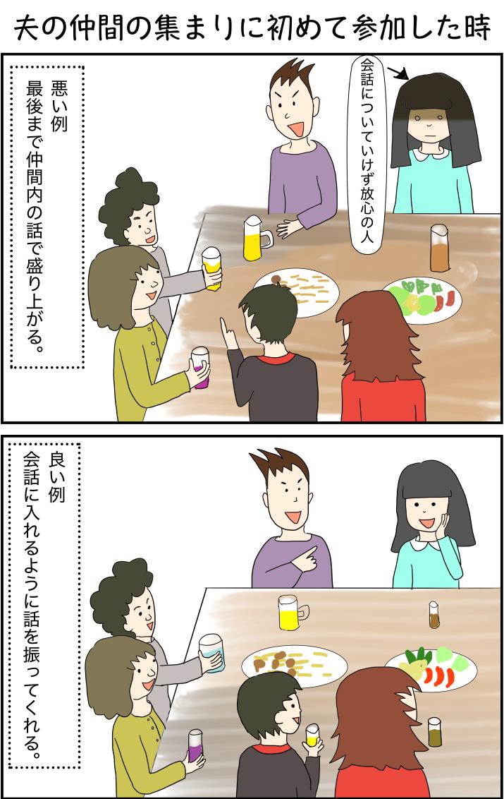 飲み会イラスト
